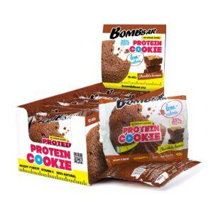 Низкокалорийное печенье Bombbar Брауни-min