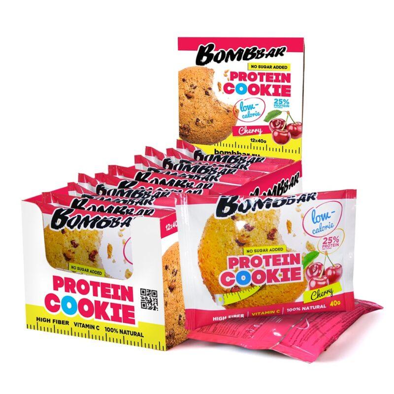 Bombbar Низкокалорийное протеиновое печенье 40 г