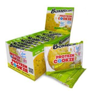 Низкокалорийное печенье Bombbar Фисташка-min