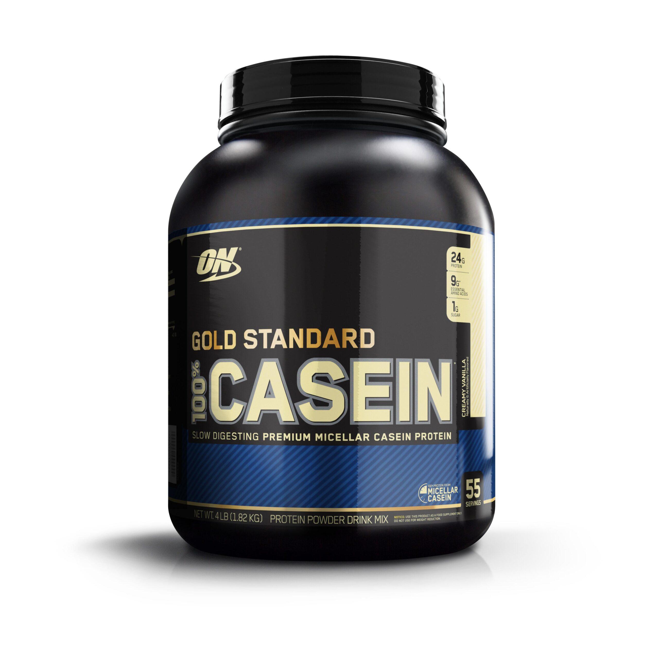 Optimum Nutrition 100% Casein GS, Vanilla, 64 Oz