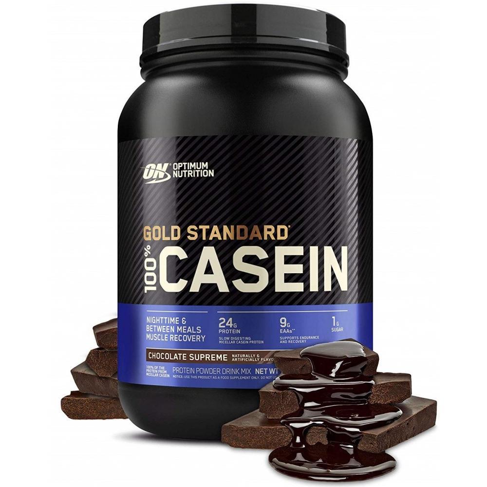 Optimum Nutrition Gold Standard 100% Casein Protein Powder, Chocolate, 2 Lb