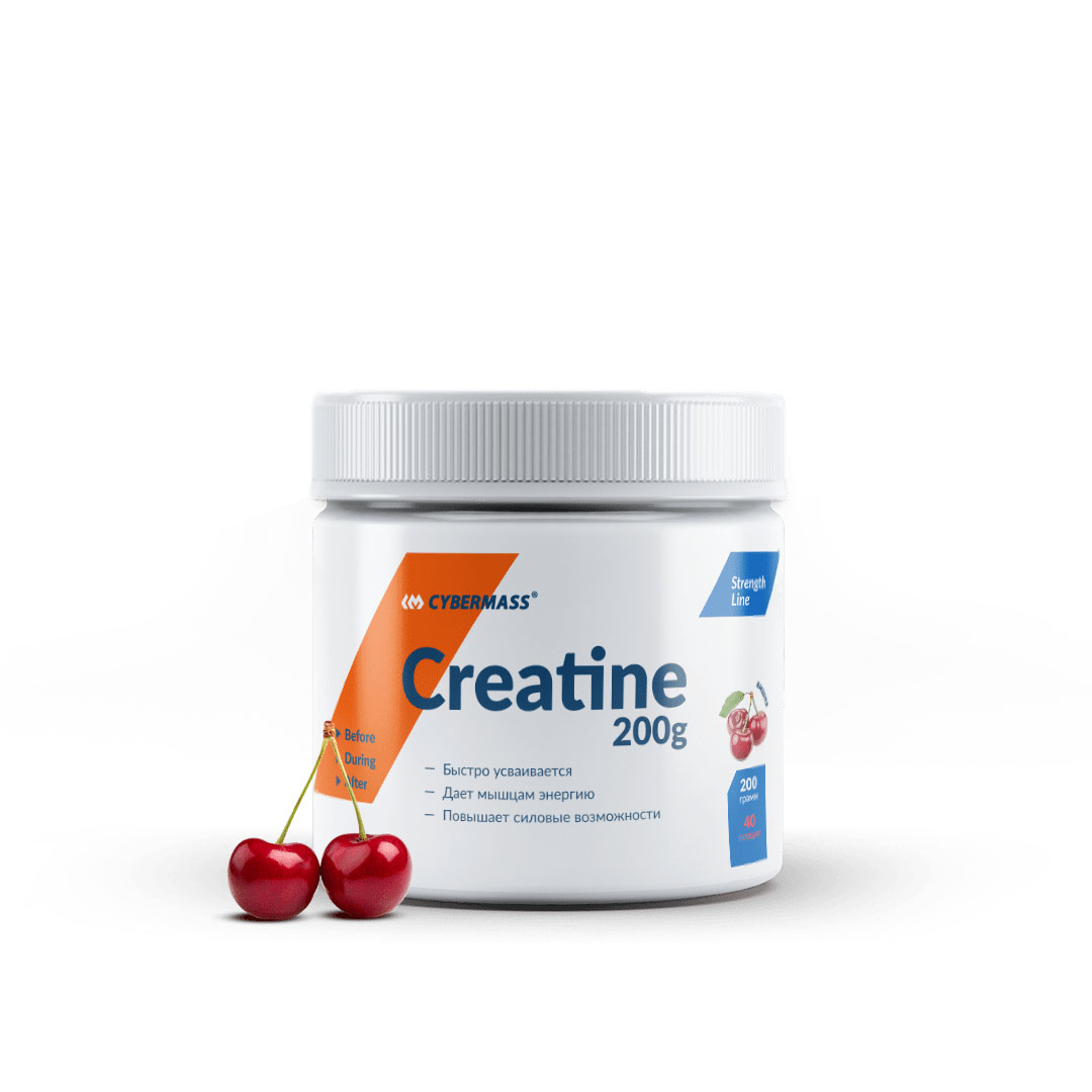 CYBERMASS Creatine 200g Вишня