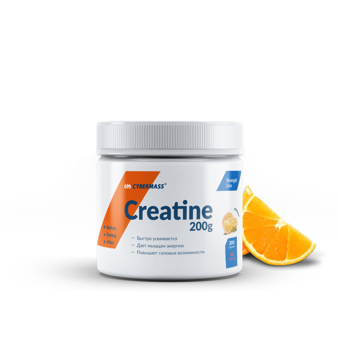 CYBERMASS Creatine 200g Апельсин