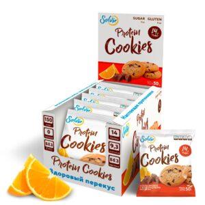 Solvie Protein Cookies Апельсин