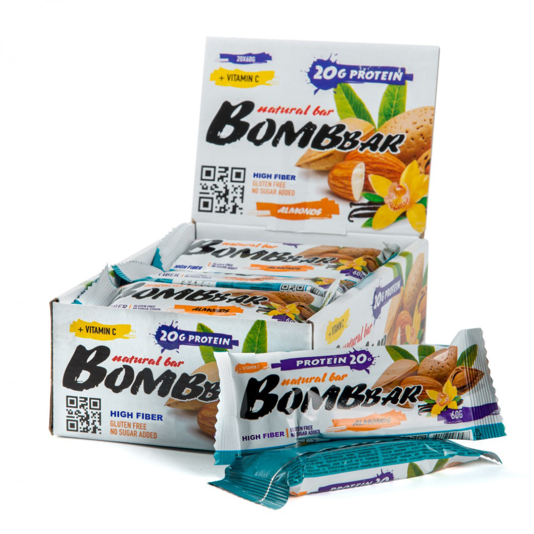 Bombbar Protein Bar миндаль