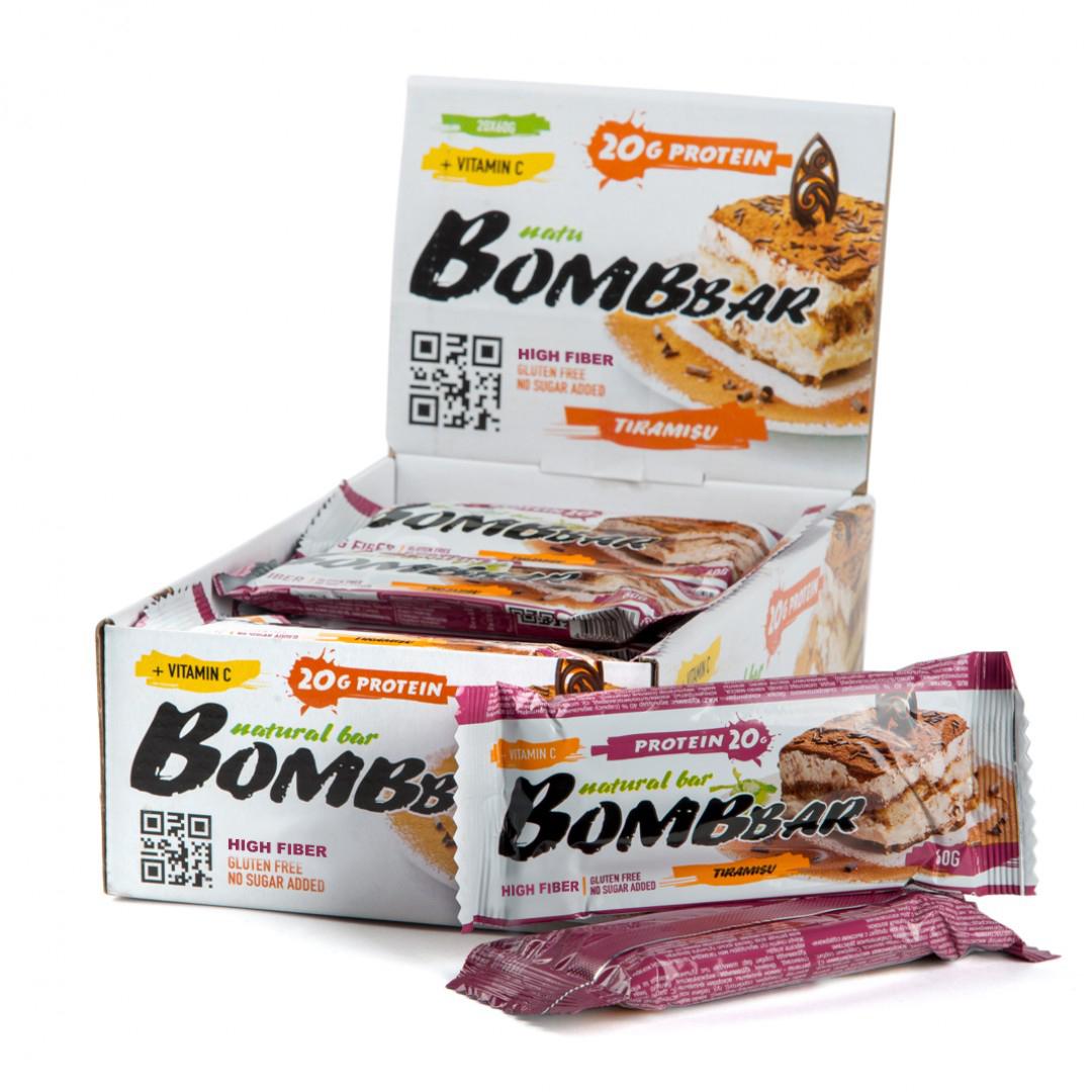 Bombbar Protein Bar тирамису