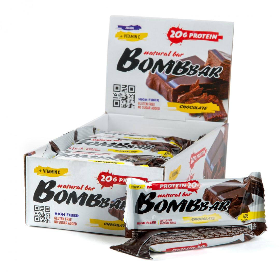 Bombbar Protein Bar шоколад