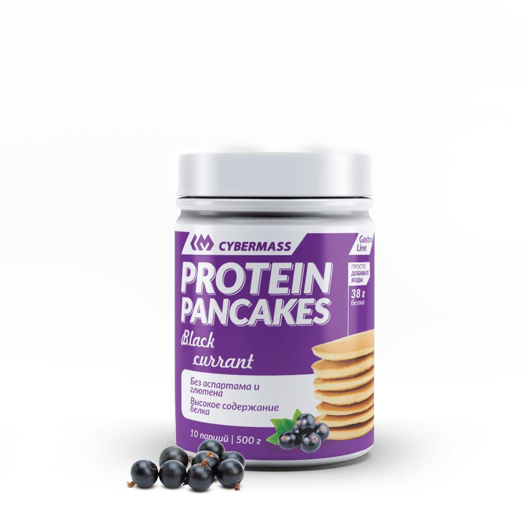 CYBERMASS Protein Pancakes Черная Смородина