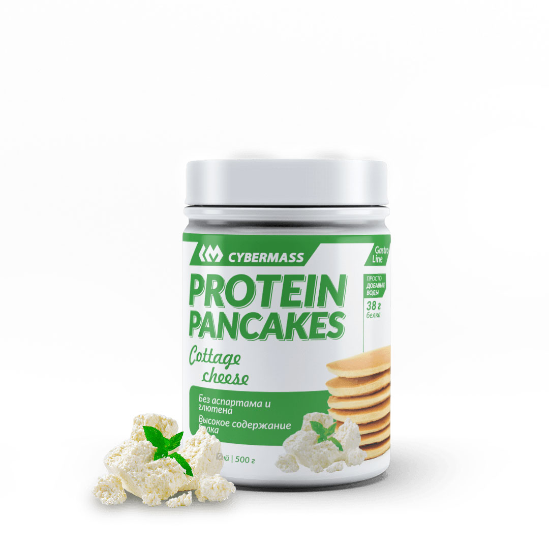 CYBERMASS Protein Pancakes Творог