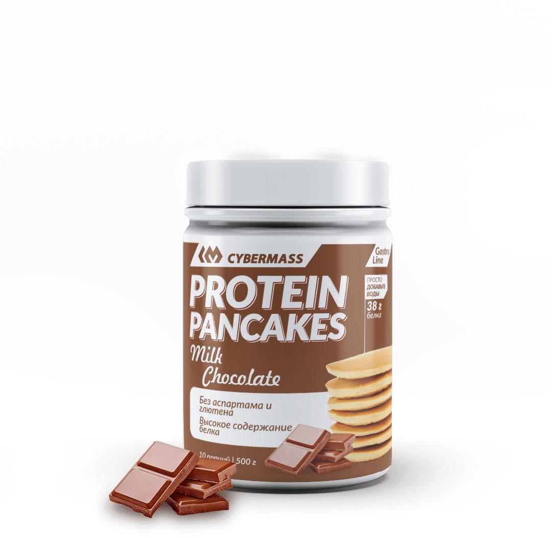 CYBERMASS Protein Pancakes Молочный Шоколад