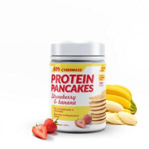 CYBERMASS Protein Pancakes Банан-клубника